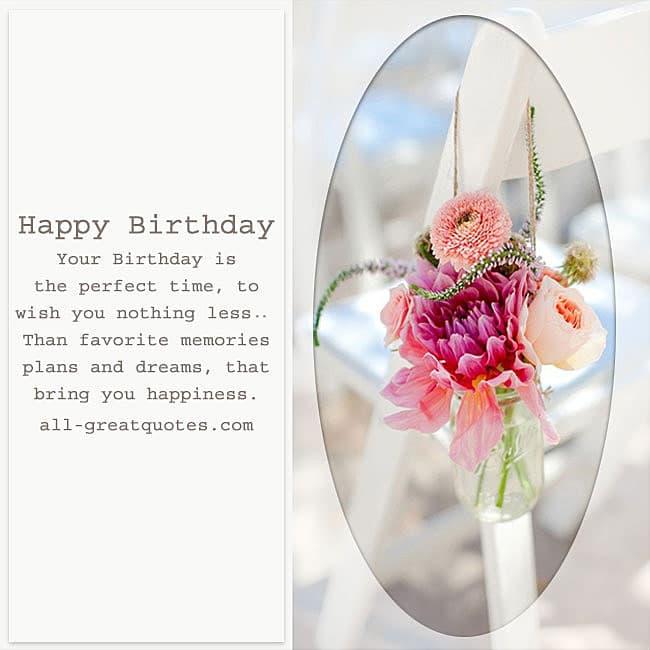 Happy Birthday Greeting Card Verses