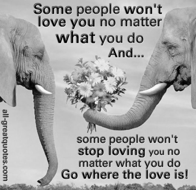 Picture Quotes - Some People Won't Love You No Matter What You Do