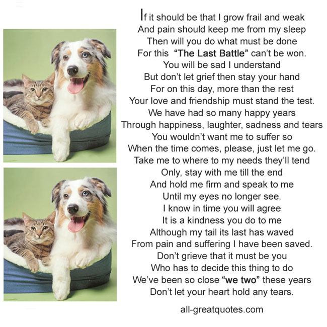 Memorial-Cards-For-Pets-If-it-should-be-that-I-grow-frail-and-weak