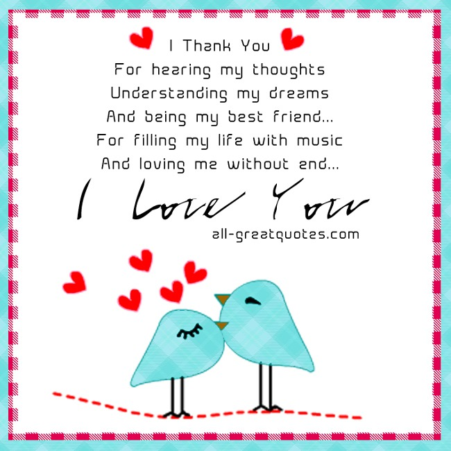 valentines day quotes for him in heaven - For hearing my thoughts understanding my dreams