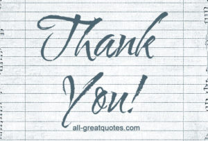 There are many reasons to say Thank You to someone Here Are Some Ideas all-greatquotes.com