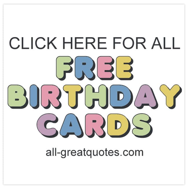 Free Birthday Cards To Print | Family | Friends | Share Facebook