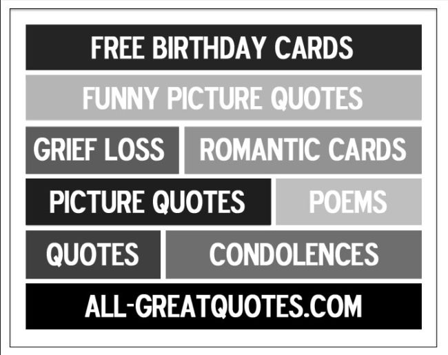 Sympathy - Condolences Cards, Memorial Grief Loss Cards, Free Birthday Cards, Picture Quotes