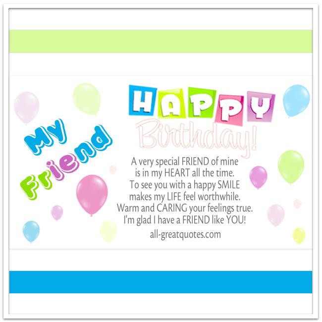 Happy Birthday A Very Special FRIEND Of Minebak
