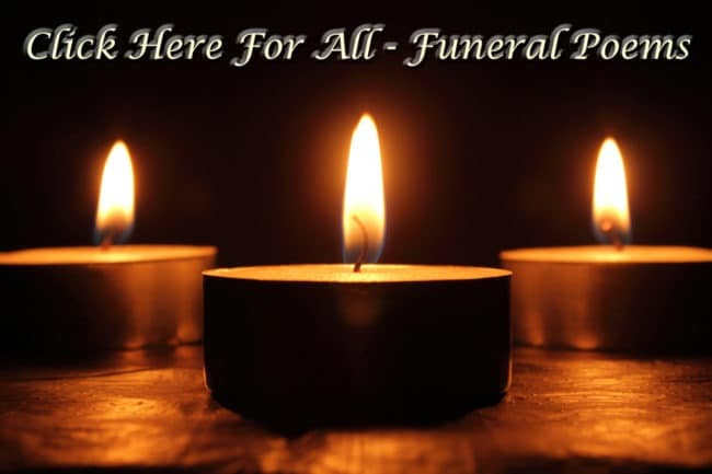 Sympathy Poems | Poems For Funerals