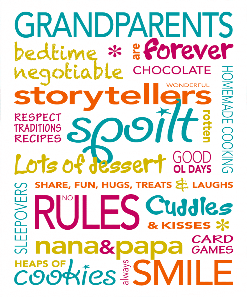 Grandparents Nanna Poppa Grandpa Grandma Poems Verses