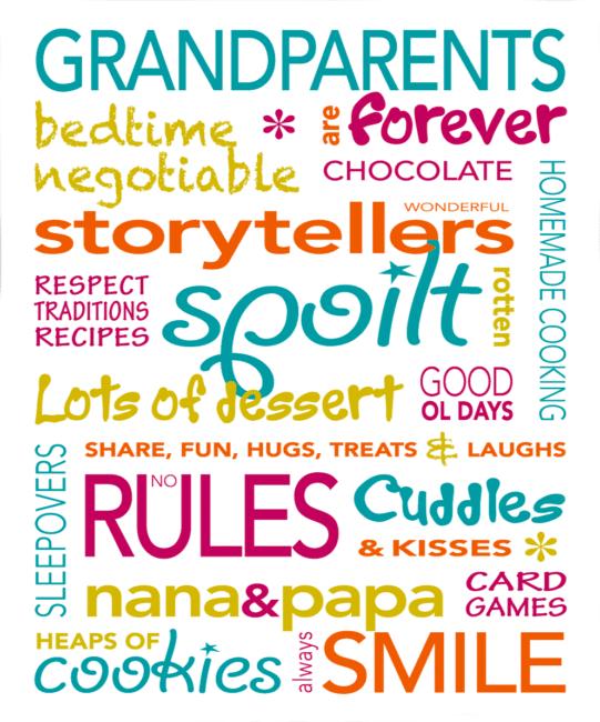 Grandparent Poems - Grandma, Grandad, Nan and Pop Verses ...