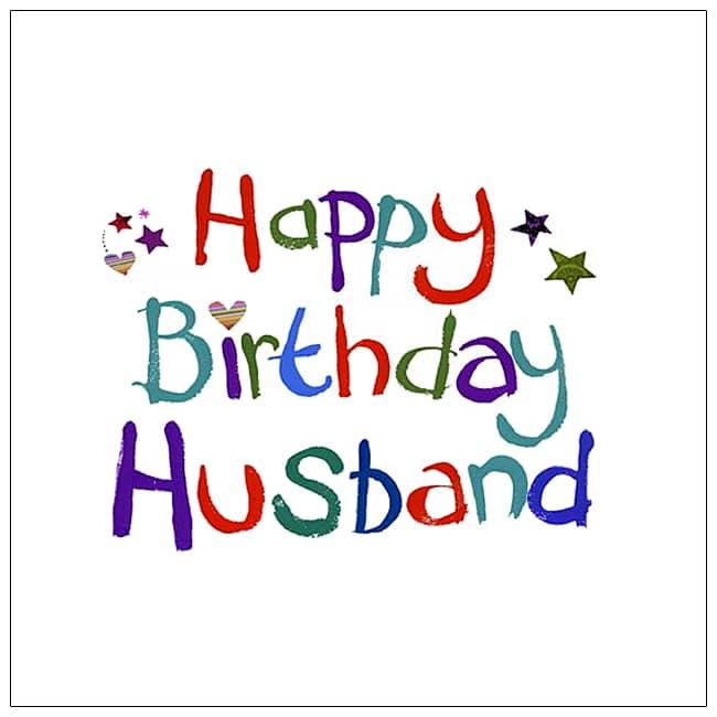Happy Birthday Husband Birthday Poems