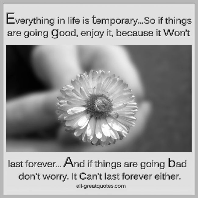 Everything-in-life-is-temporary-So-if-things-are-going-good-enjoy-it-because-it-won't-last-forever