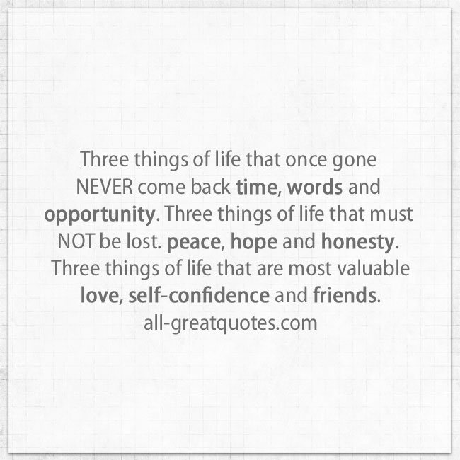 three-things-of-life-that-once-gone-never-come-back