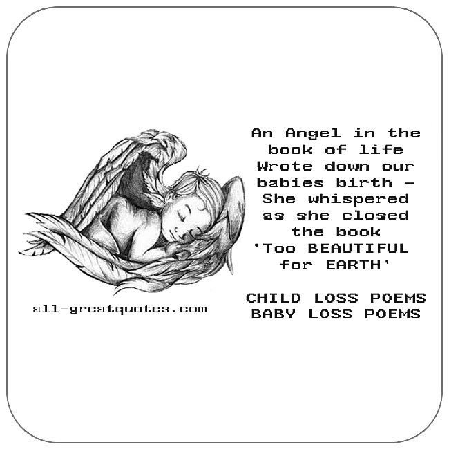 Child Loss Poems Baby Loss Poems Infant Poems