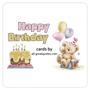 Email, Share, Printable, Free Birthday Cards For Family, Friends, Love, Belated, Funny, Share Facebook