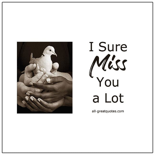 I Sure You Miss You A Lot Quotes About Grief