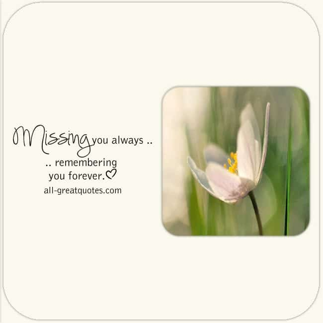 Missing_You_Always_Remembering_You _Forever