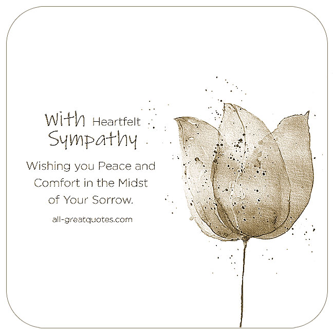 Image Result For Sympathy Cards Quotes