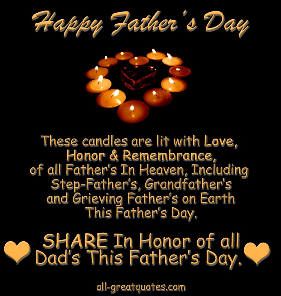 In Loving Memory Picture Cards For Dad On Fathers Day