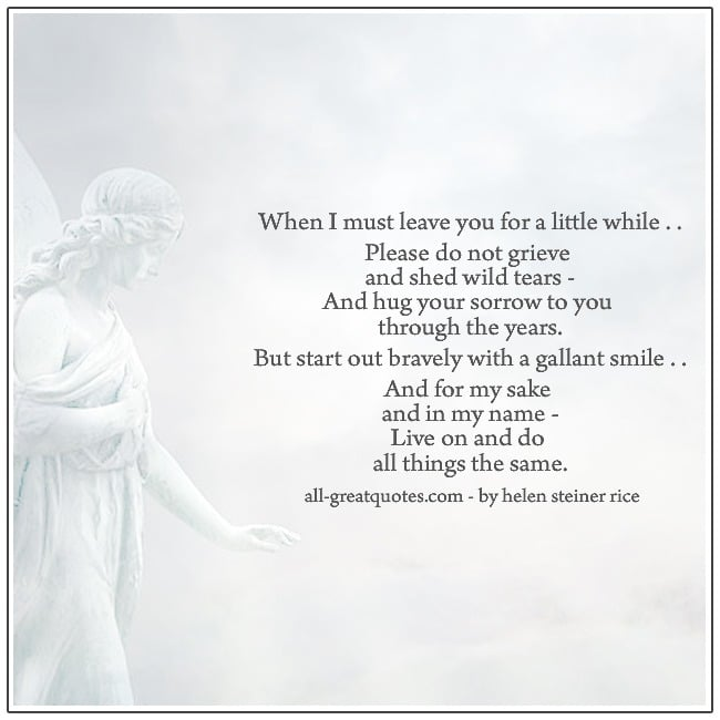 A Mother's Farewell To Her Children Loss Of Mom Grief Poems