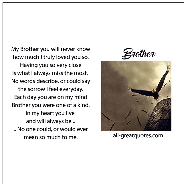 Memorial Cards Brother Archives | Greeting Cards For Facebook