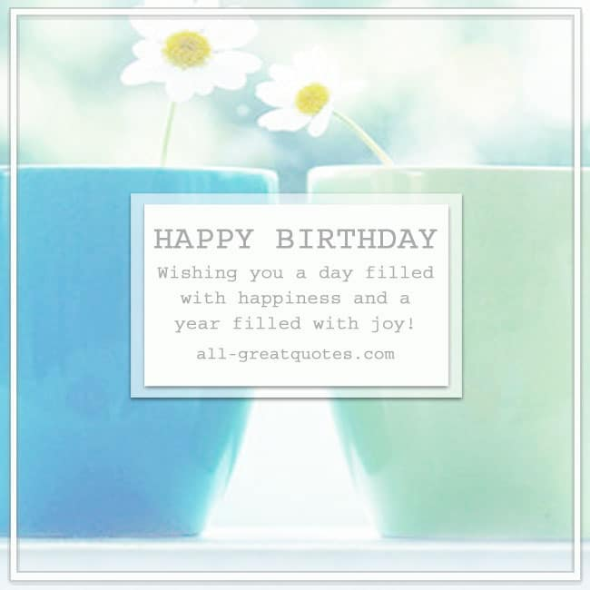 Happy Birthday Greeting Card Pictures