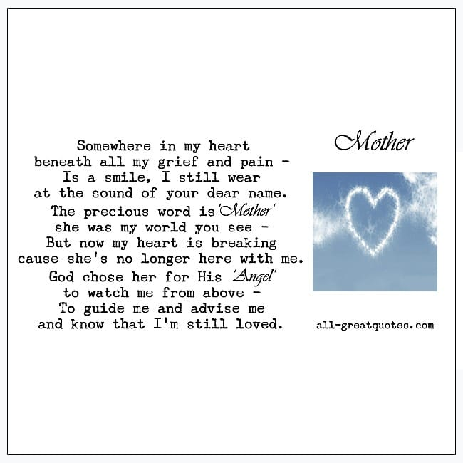Farewell Dear Mother Grief Poems For Mother