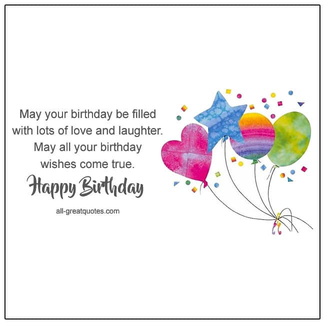 Happy Birthday Messages For Birthday Sayings For Birthday