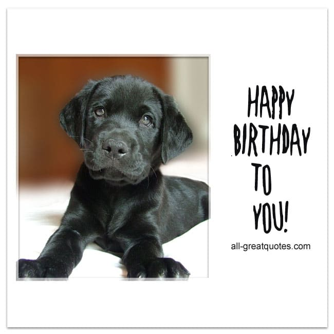 Happy Birthday To You Share Free Cards