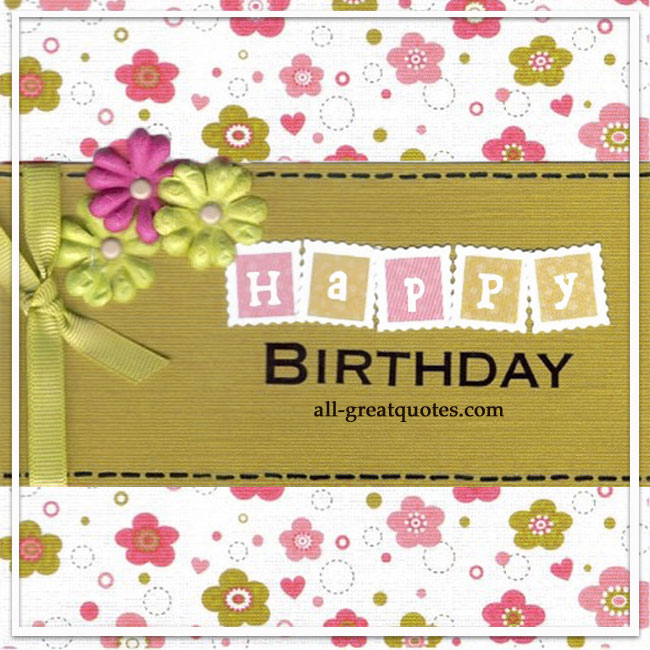 Free Birthday Cards For Facebook