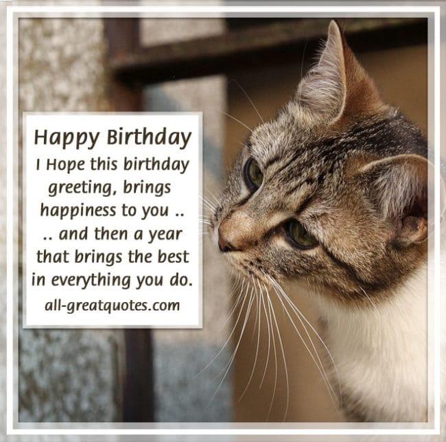 Happy Birthday - I Hope This Birthday Greeting Cards