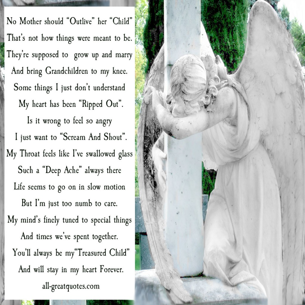 No Mother Should Outlive Her Child Poem