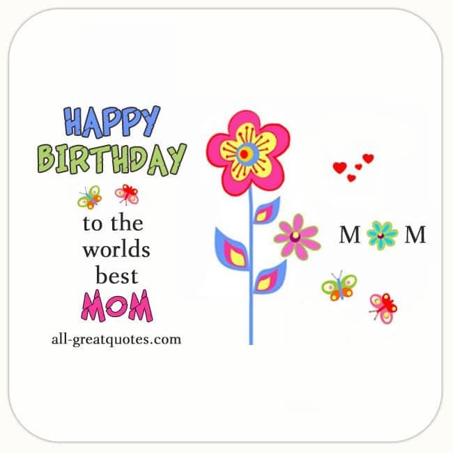 Worlds Best Mom Wishes
