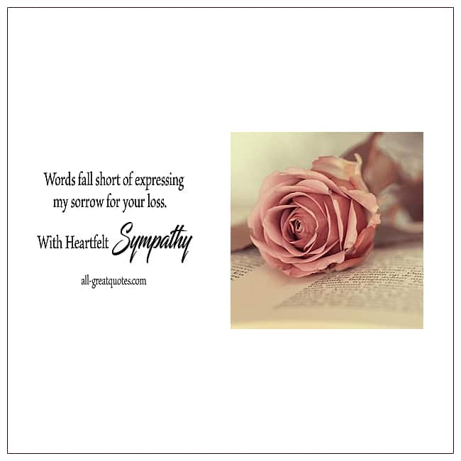 Image Result For Sympathy Cards Email