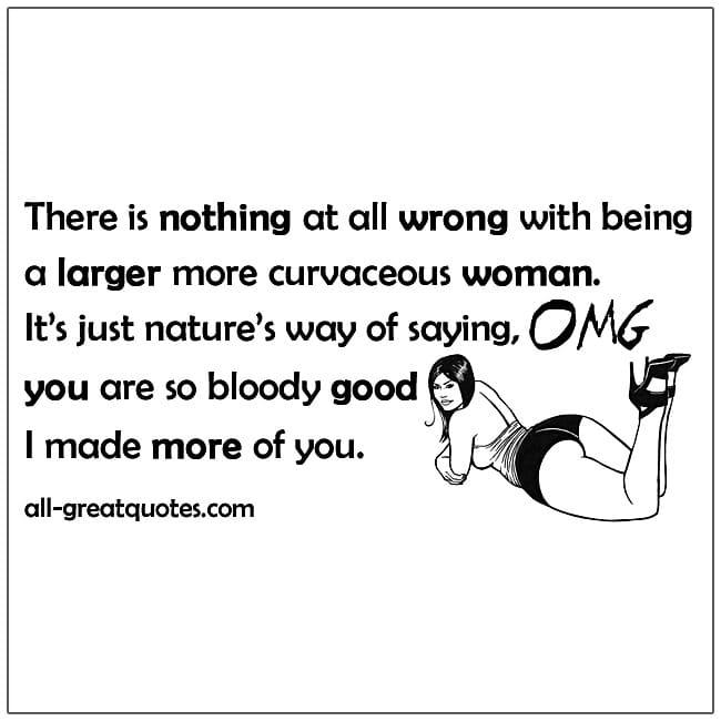 larger more curvaceous woman