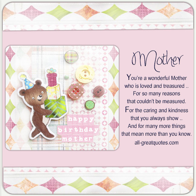 Free-Birthday-Cards-For-Mother-Youre-a-wonderful-Mother-who-is-loved-and-treasured