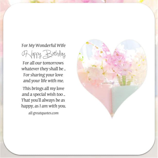 Free Birthday Cards For Wife – Free Birthday Cards for Wife