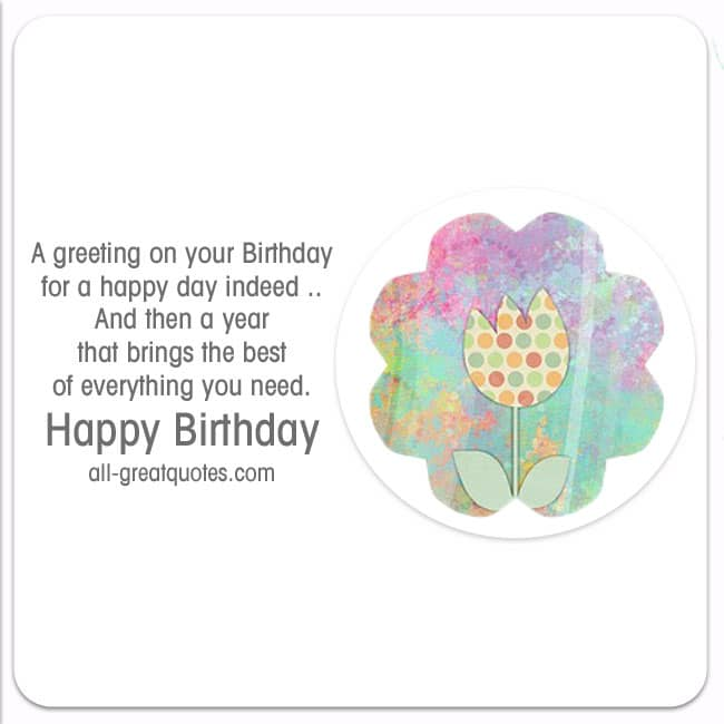 Free Birthday Cards Share Facebook