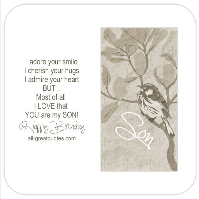 Birthday-Cards-For-Son-i-adore-your-smile-cherish-your-hugs