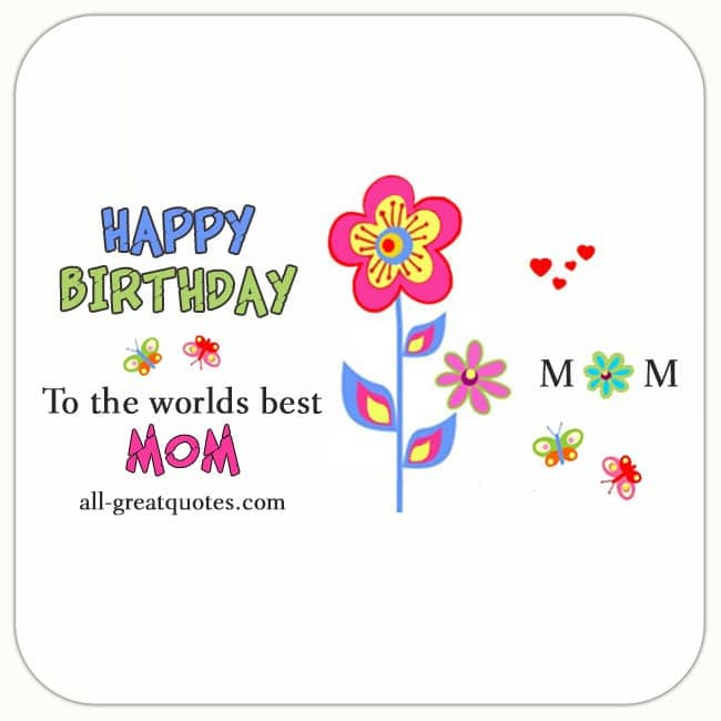 Free Birthday Cards For Mom On Facebook
