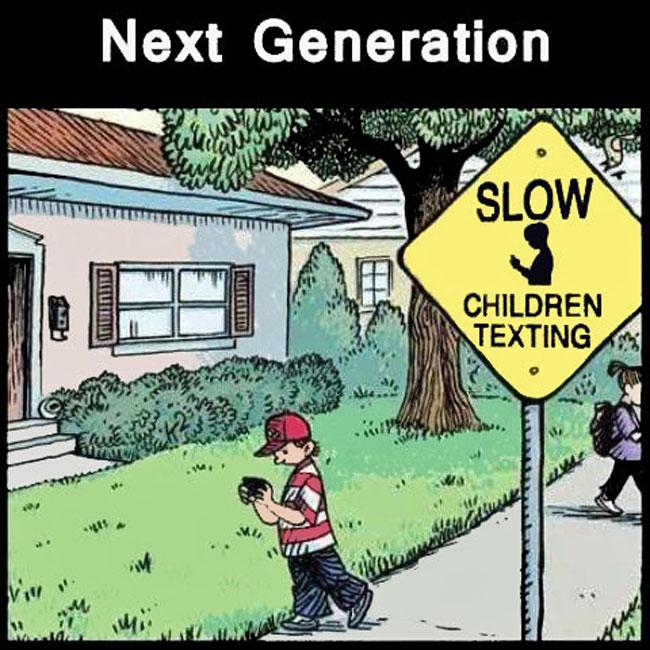 Next Gen - Slow Children Texting