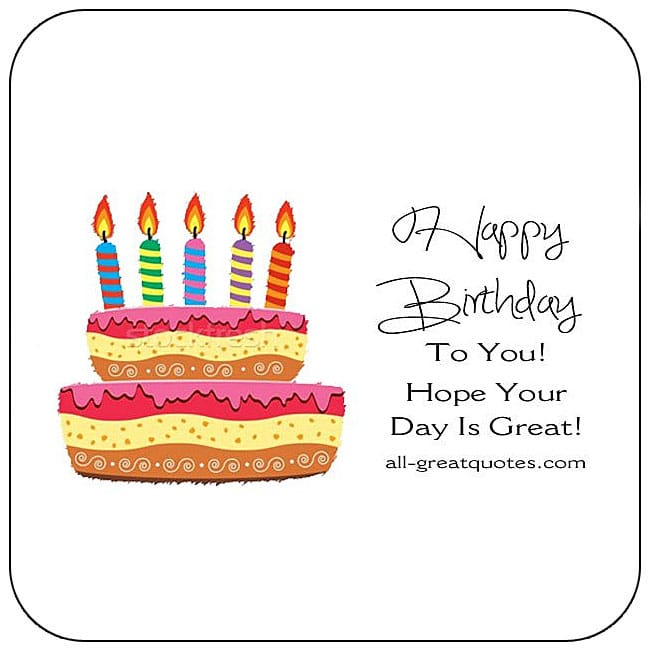 Free Happy Birthday Cards For Facebook Friends Family