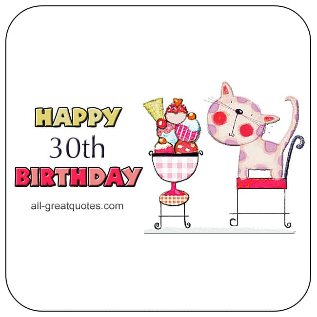 Age Birthday Cards ANIMATED Wishes