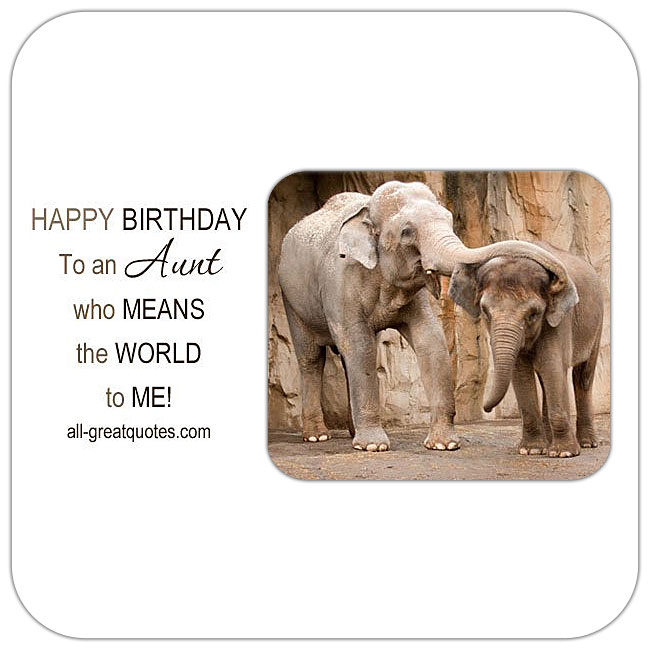 Aunt free birthday cards to share on Facebook, Share on Facebook, birthday cards for free, ecard images, pictures, photos