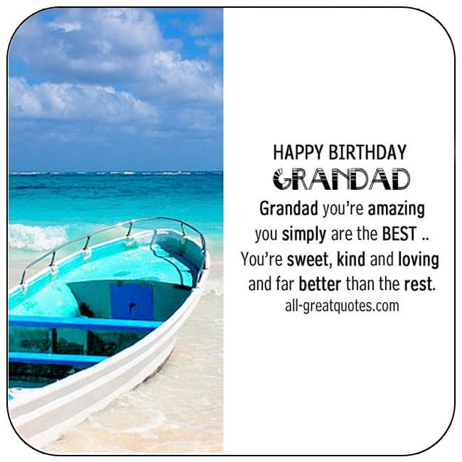 Grandad Grandfather free birthday cards to share on Facebook, Share on Facebook, birthday cards for free, ecard images, pictures, photos