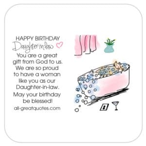 Birthday wishes for daughter in law happy birthday daughter in law you are great bookmarktalkfo Gallery