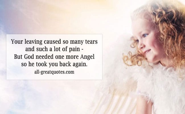 A Little Angel Loss Of Child Poems Angel Poems