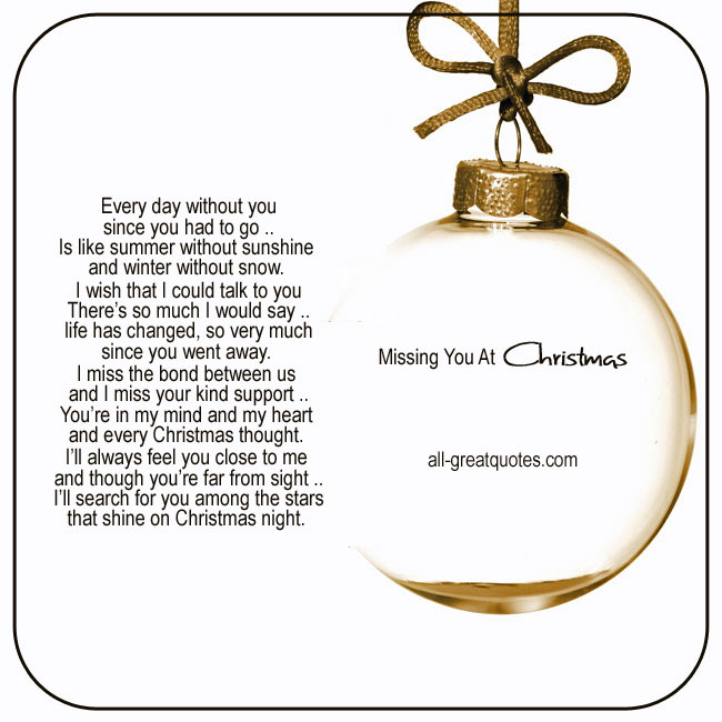 Christmas in heaven cards Missing you at Christmas