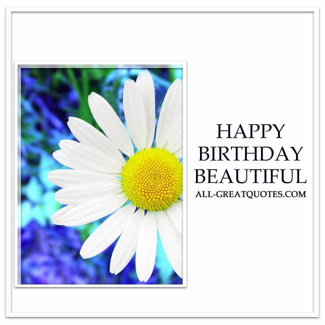 Happy birthday in heaven wishes quotes images - Happy Birthday Beautiful Share Free Birthday Cards