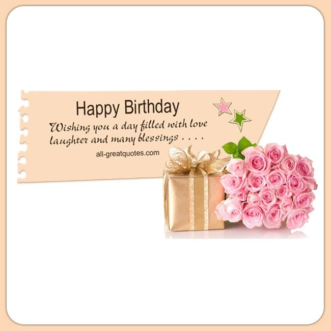 happy valentines day quotes for sister - Happy Birthday Wishing you a day filled with love