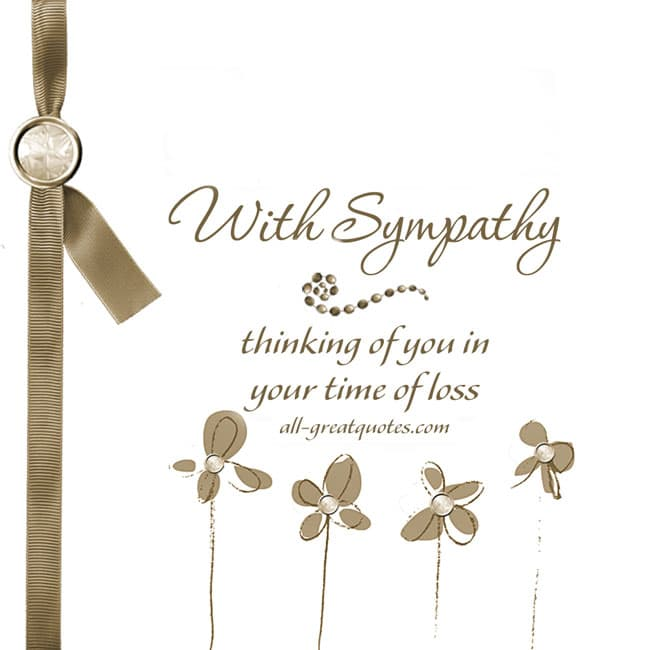 With-Sympathy-Thinking-of-you-in-your-time-of-loss