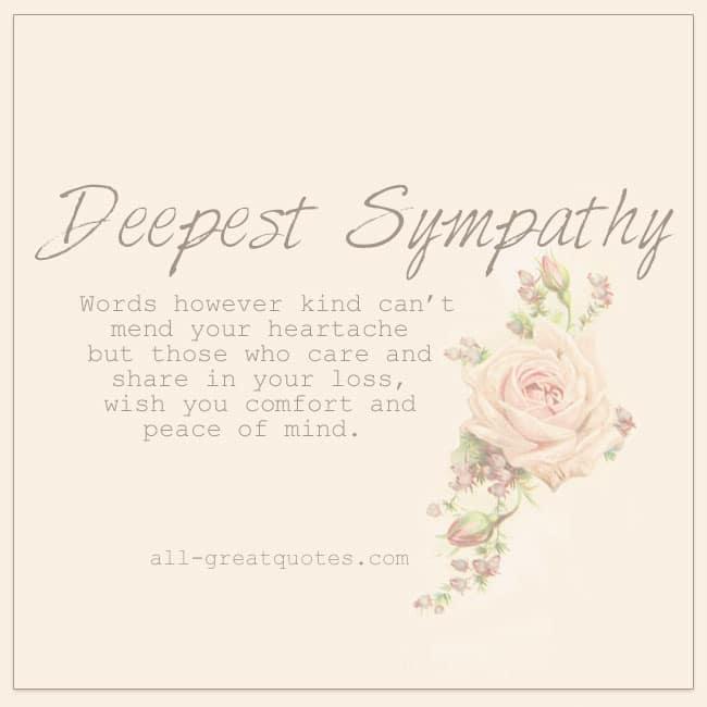 Deepest sympathy free grief loss cards share facebook deepest sympathy free grief loss cards to share facebook altavistaventures Choice Image