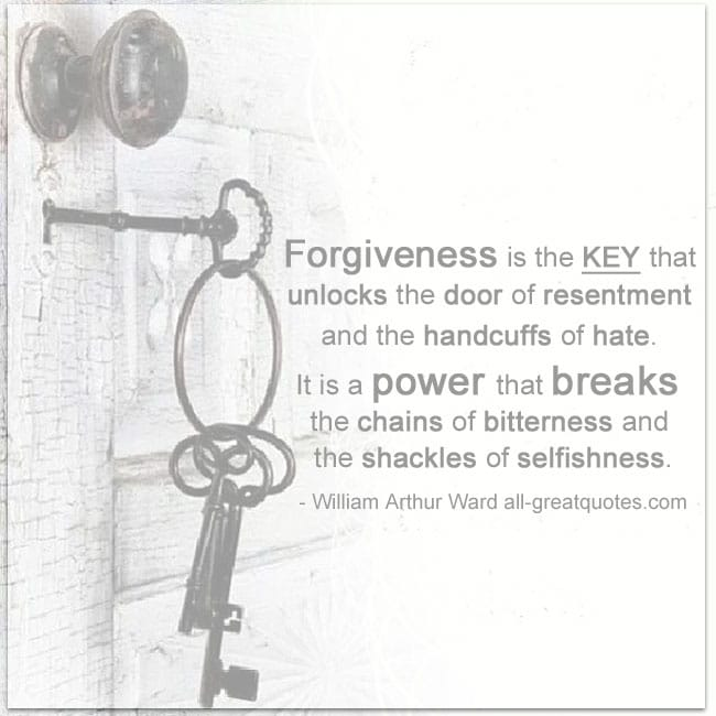 Forgiveness is the key that unlocks the door of resentment PICTUREQUOTES